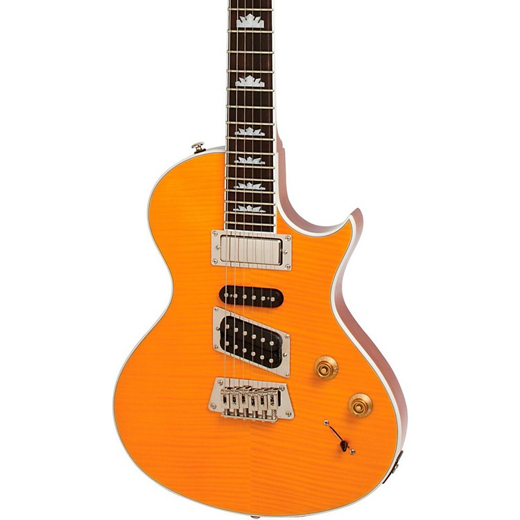 Epiphone Nighthawk Electric Guitar Transparent Amber