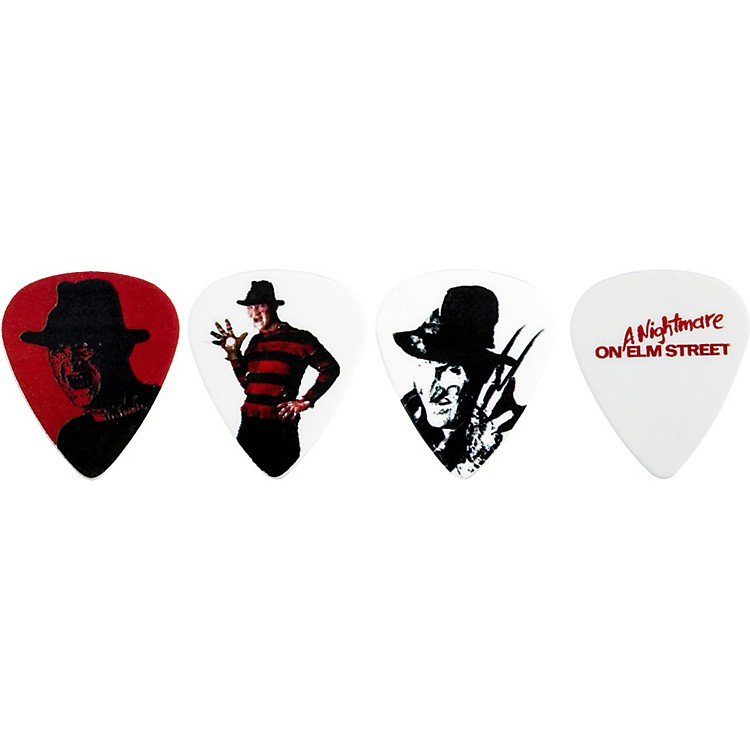 Clayton Nightmare On Elm Street Guitar Picks 6-Pack White Medium