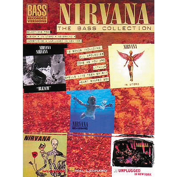 Hal Leonard Nirvana - The Bass Collection Tab Songbook