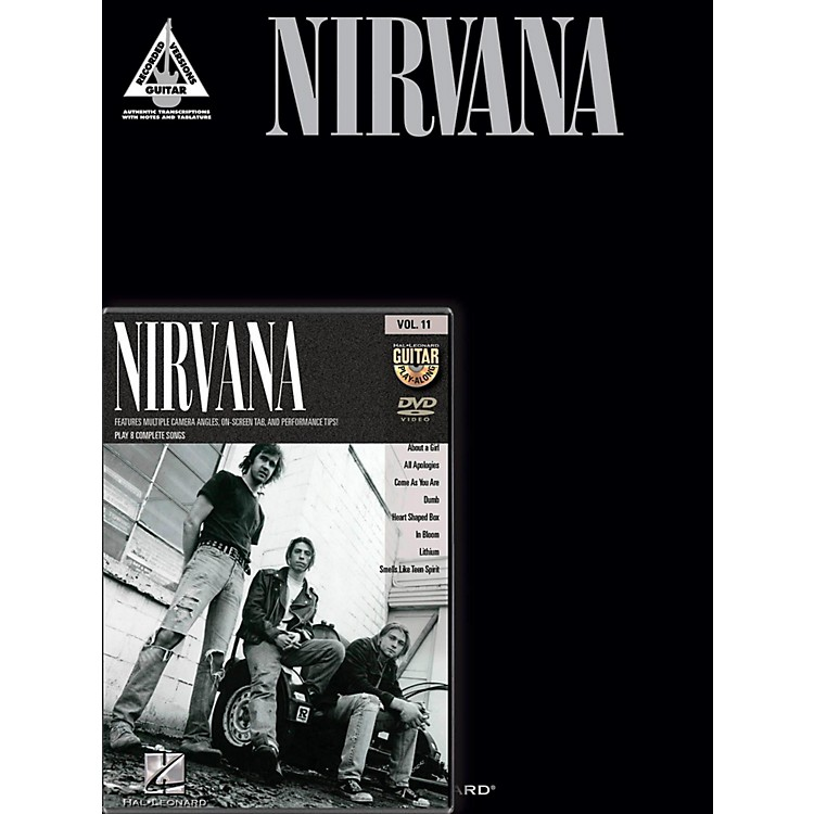 Hal Leonard Nirvana Guitar Pack Book/DVD
