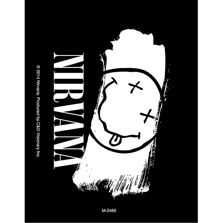 C&D VisionaryNirvana Magnet - Smiley Paint