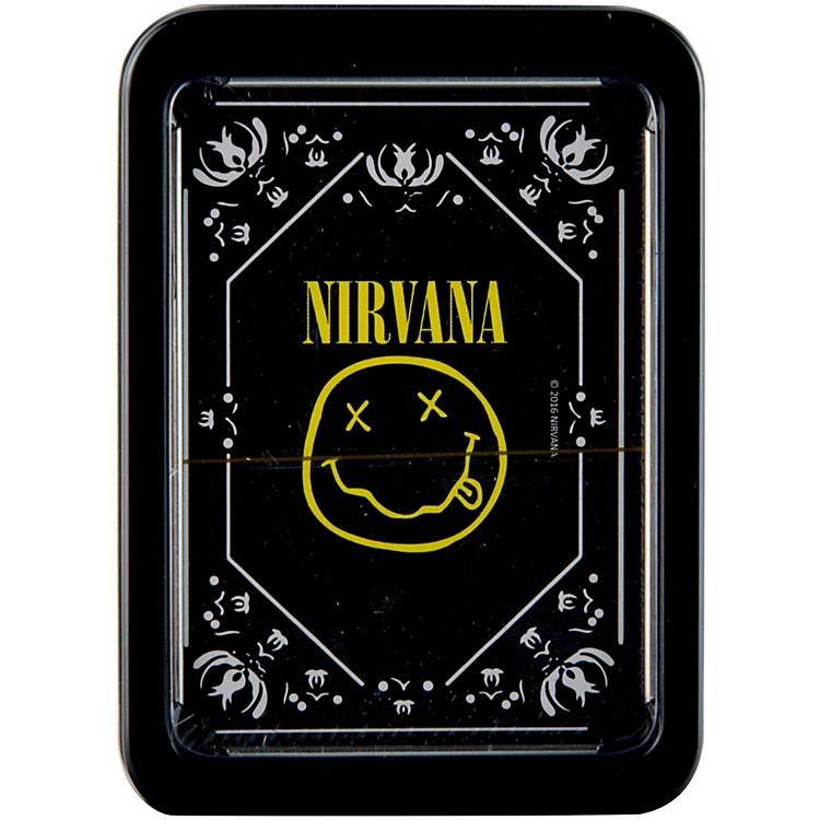 Axe HeavenNirvana Smiley Logo Playing Cards in Tin Gift Box