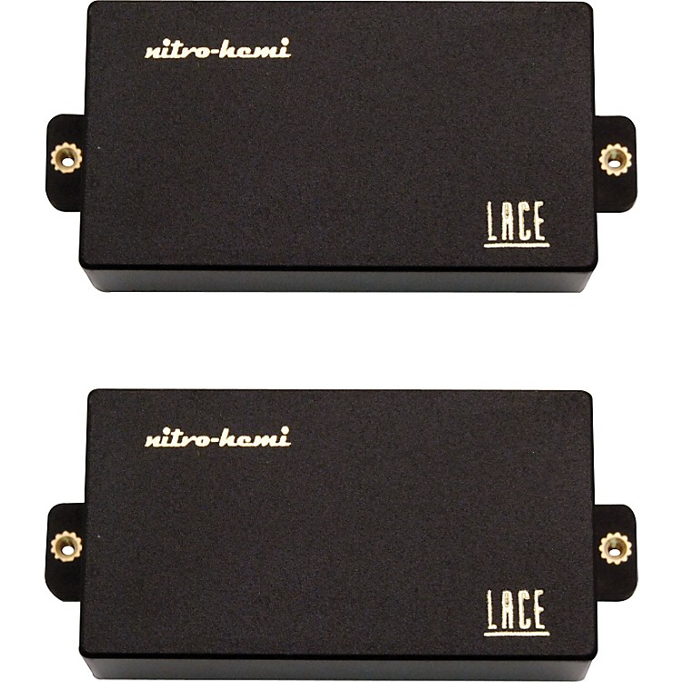 Lace Nitro Hemi Humbucker Set Black