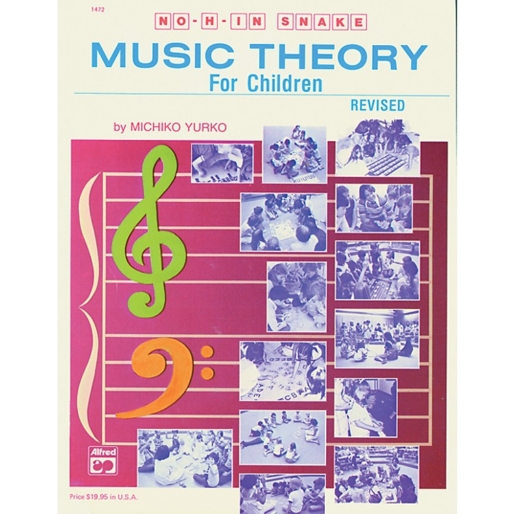 Alfred No H in Snake: Music Theory for Children Book
