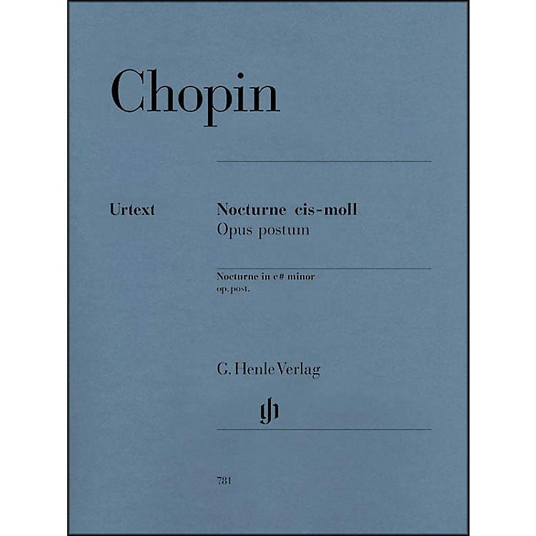 G. Henle VerlagNocturne in C Sharp minor Op. Posth. By Chopin