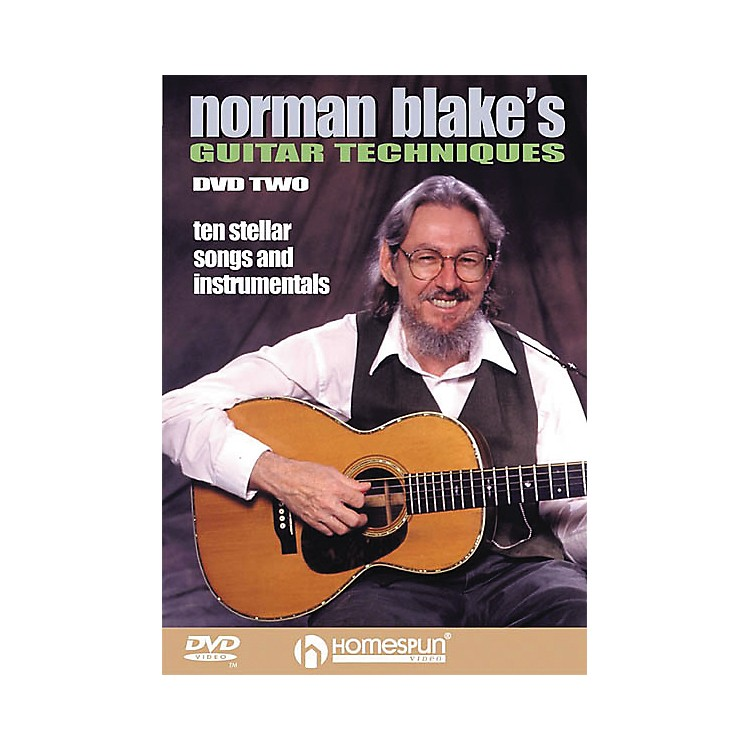 HomespunNorman Blake's Guitar Techniques 2 (DVD)