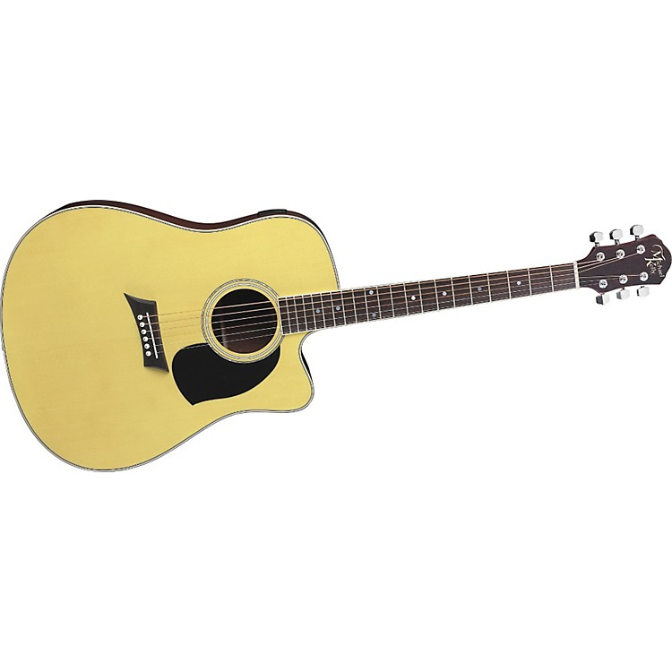 michael kelly nostalgia dreadnought 10ce acoustic electric guitar with onboard tuner music123. Black Bedroom Furniture Sets. Home Design Ideas