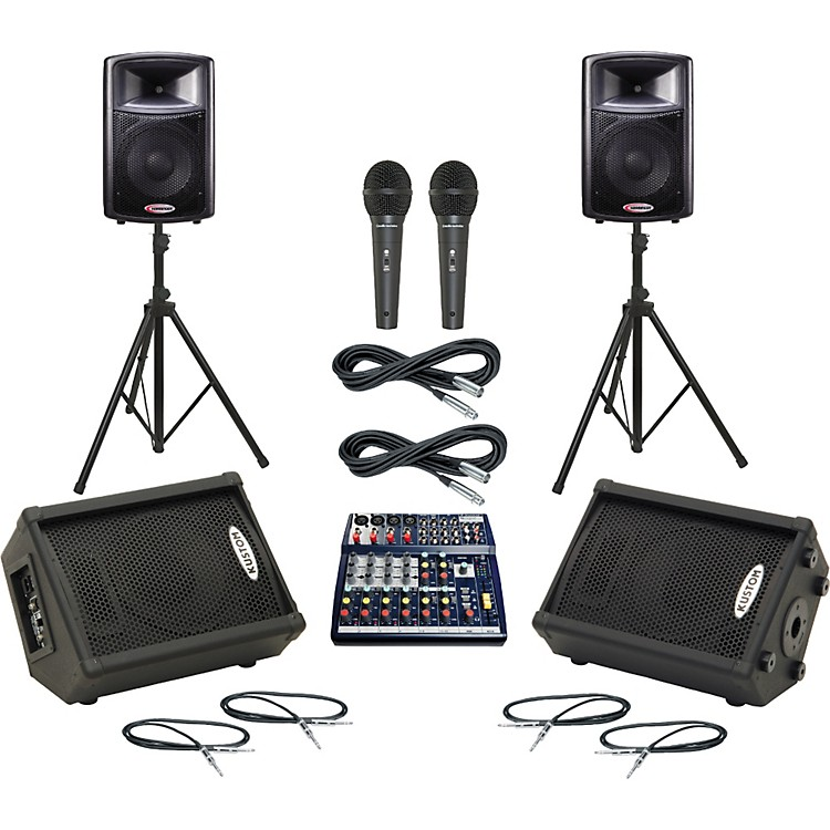 SoundcraftNotepad 124 / APS12 Mains & Monitors Package