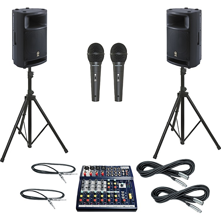 Soundcraft Notepad 124 / MSR400 PA Package