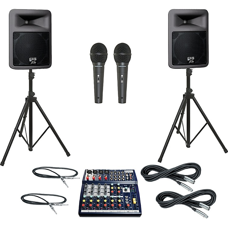 Soundcraft Notepad 124 / PR12D PA Package