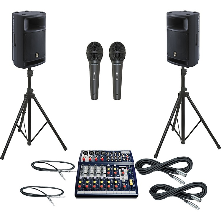 Soundcraft Notepad 124FX / MSR400 PA Package