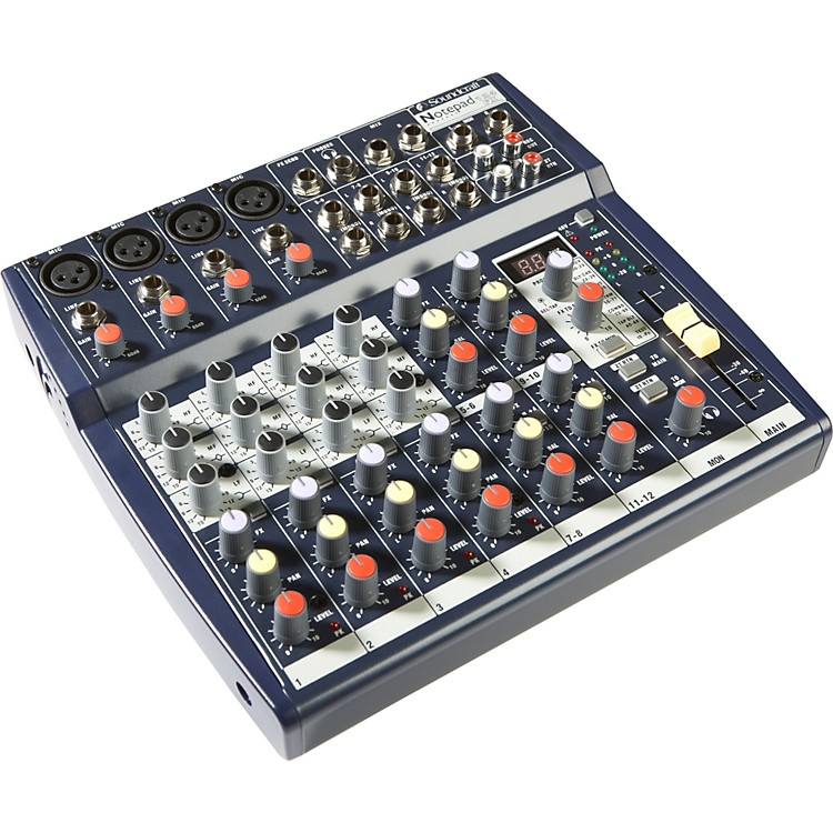 SoundcraftNotepad 124FX Mixer with Effects