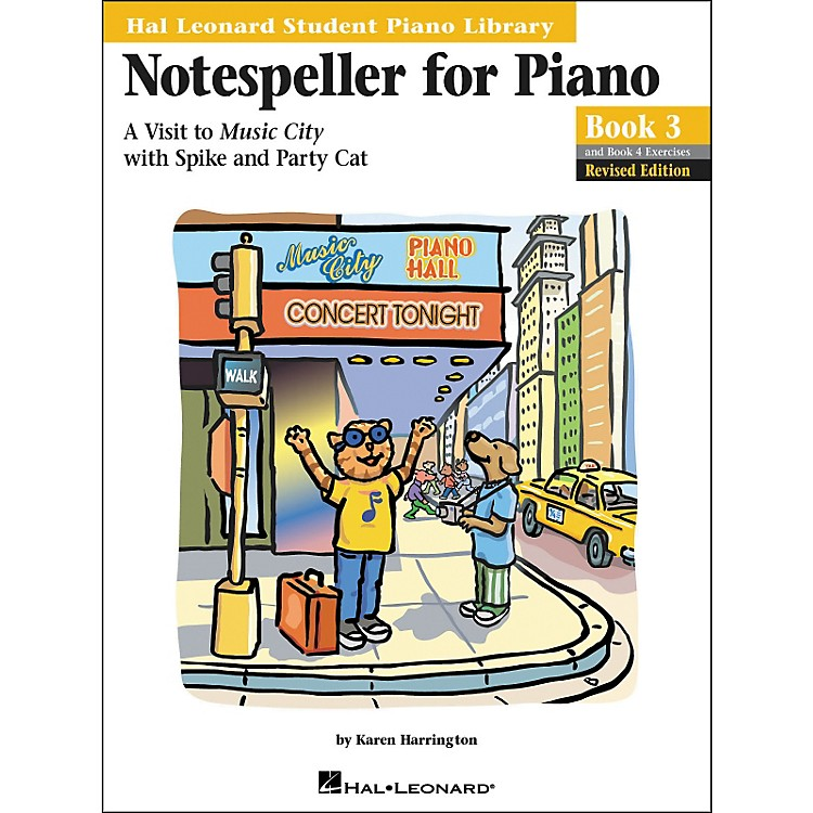 Hal Leonard Notespeller For Piano Book 3 And Book 4 Exercises Hal Leonard Student Piano Library