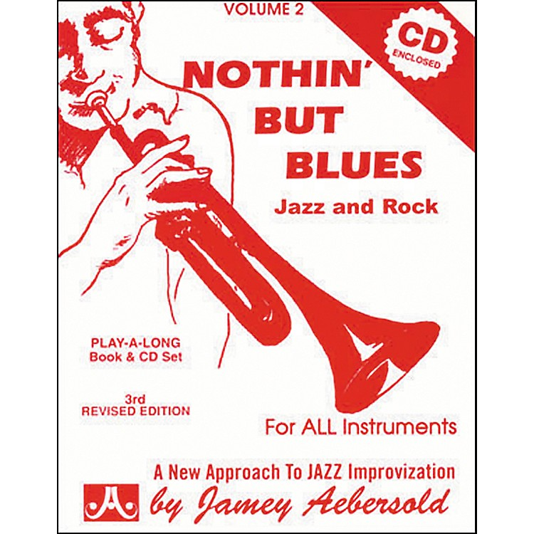 Jamey AebersoldNothin' But Blues Volume 2 Play-Along Book and CD