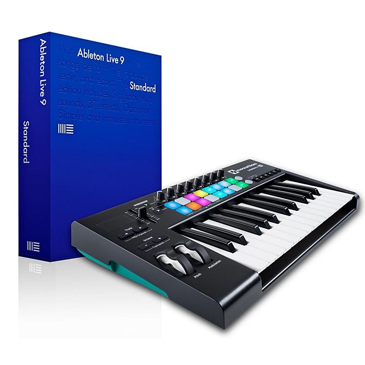 NovationNovation Launchkey 25 MIDI Controller with Ableton Live 9.5 Standard