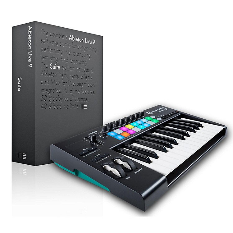 NovationNovation Launchkey 25 MIDI Controller with Ableton Live 9.5 Suite