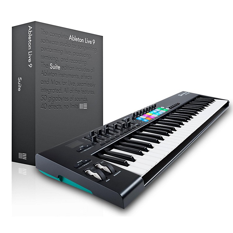 NovationNovation Launchkey 61 MIDI Controller with Ableton Live 9.5 Suite