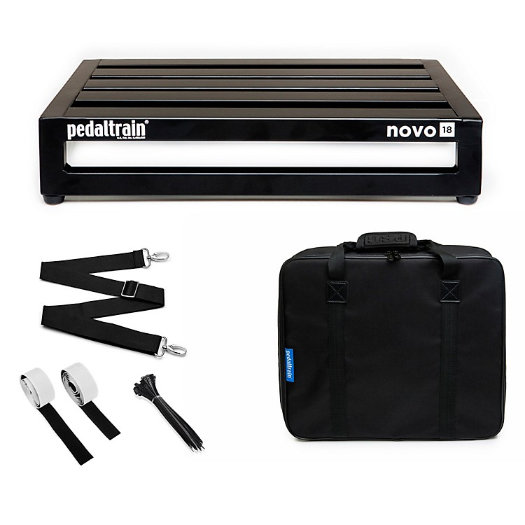 Pedaltrain Novo 18 Pedal Board with Soft Case