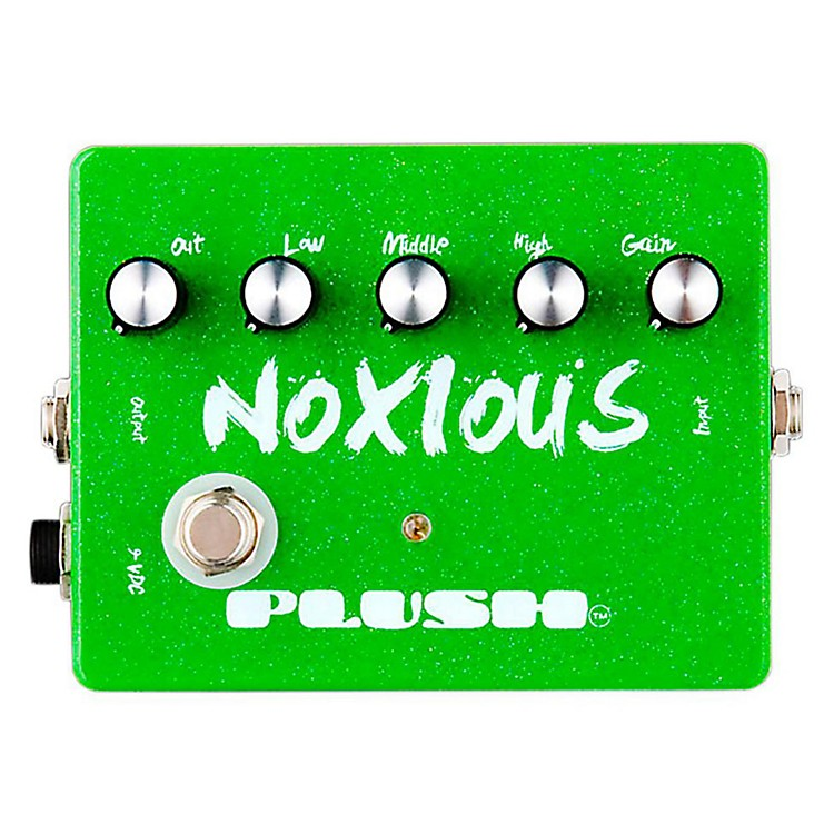 Plush Noxious Overdrive Guitar Effects Pedal