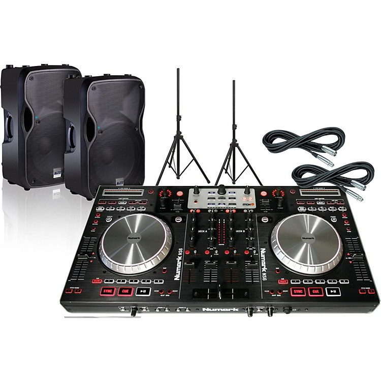 Numark Numark NS6 bundle with Alto TS112A Speakers