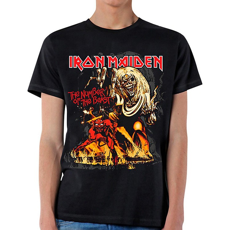 Iron Maiden Number of the Beast T-Shirt Large