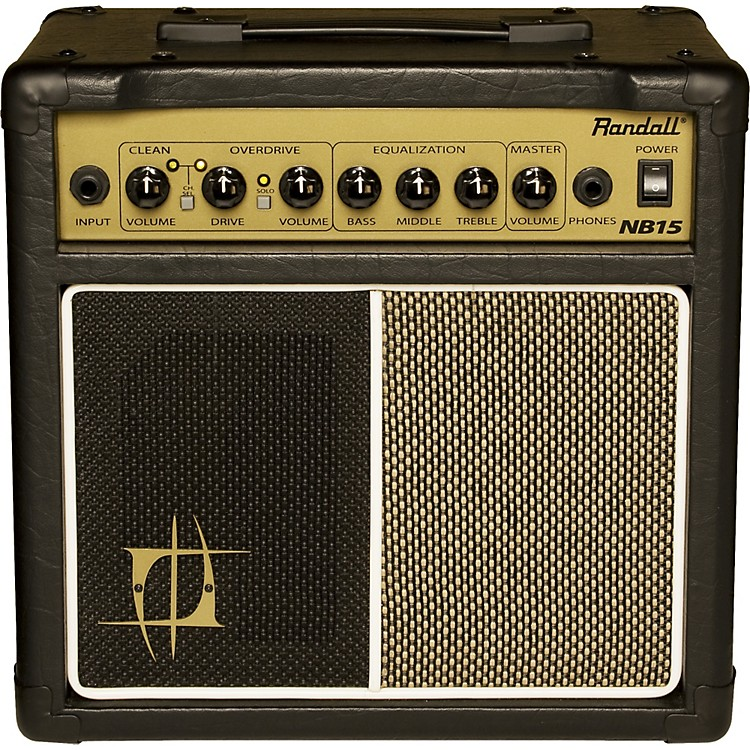 Randall Nuno Bettencourt Signature NB15 15W 1x6.5 Guitar Combo Amp Black