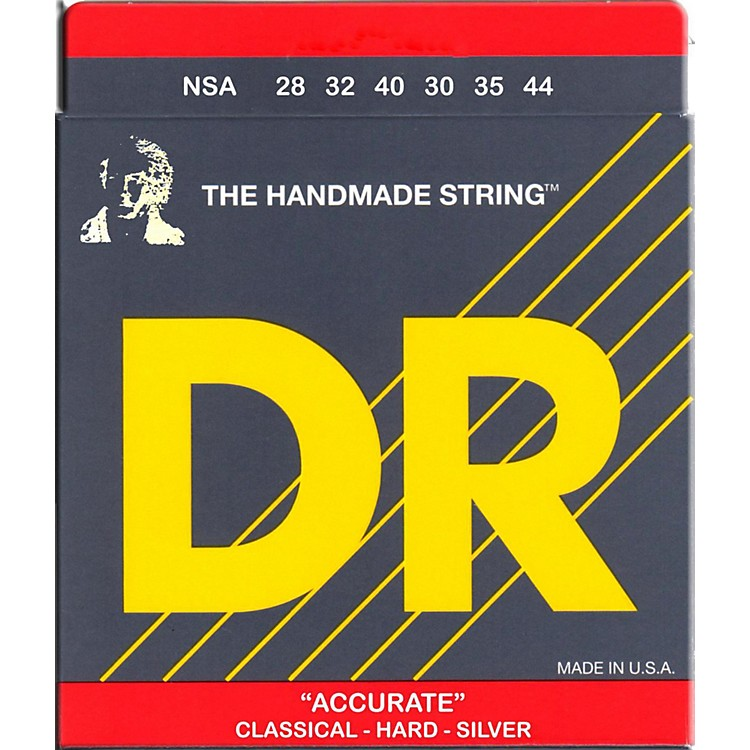 DR StringsNylon Classic Accurate Hard Tension Acoustic Guitar Strings
