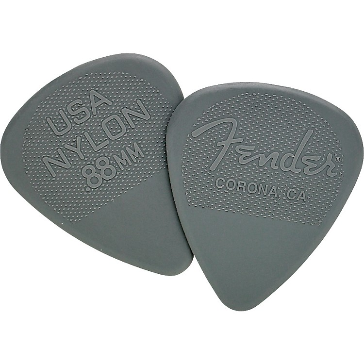 Fender Nylon Guitar Pick 12 Pack