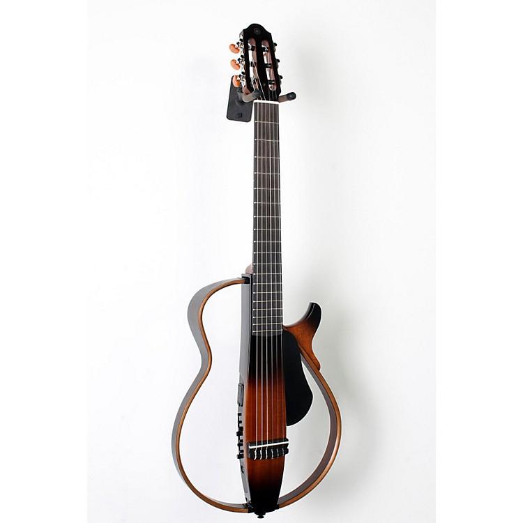 yamaha nylon string silent guitar tobacco sunburst. Black Bedroom Furniture Sets. Home Design Ideas