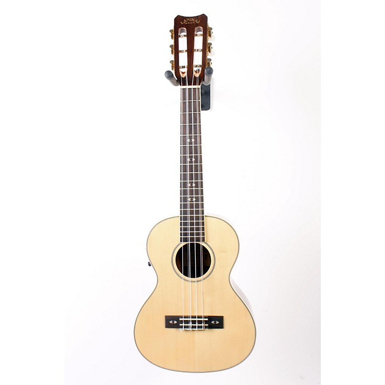 Lanikai O Series O-6EK Ovangkol 6-String Tenor Acoustic-Electric Ukulele with Fishman Kula Electronics Natural 888365006239