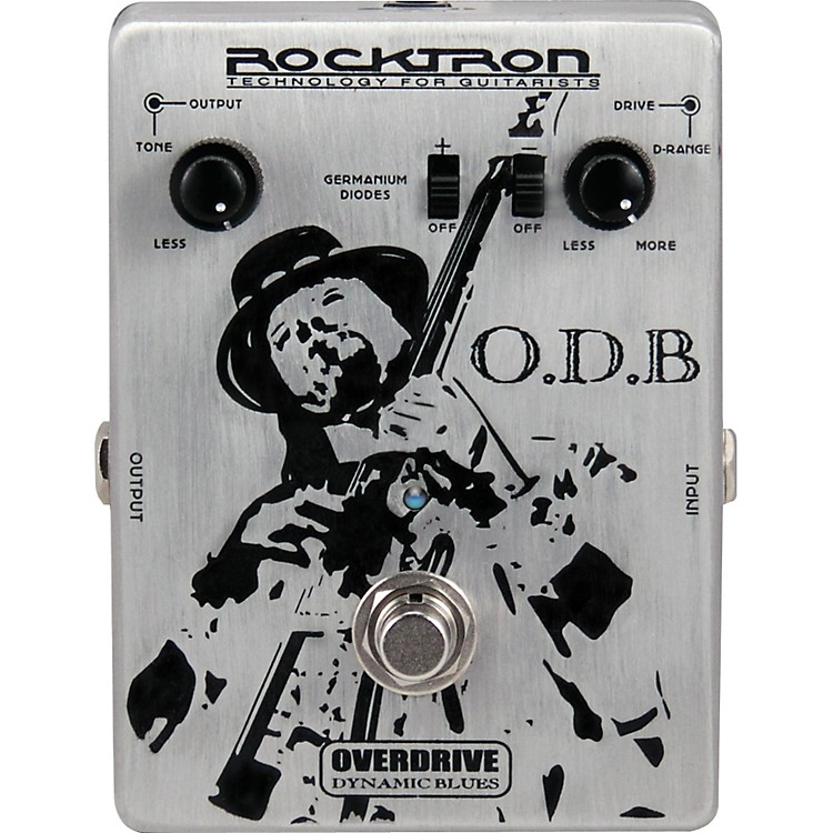 Rocktron O.D.B. Overdrive Dynamic Blues Guitar Effects Pedal