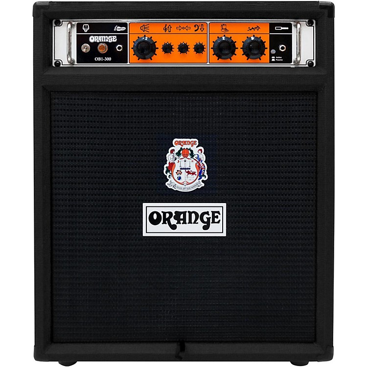 Orange Amplifiers OB1-300-Combo Bass Amplifier Black