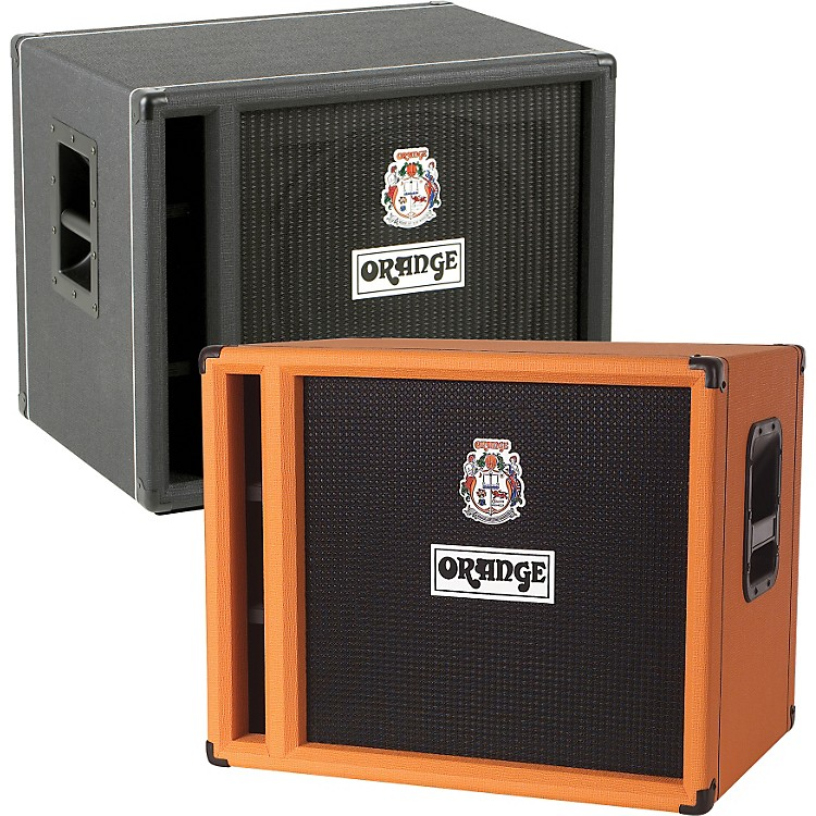 Orange Amplifiers OBC Series OBC115 400W 1x15 Bass Speaker Cabinet Black