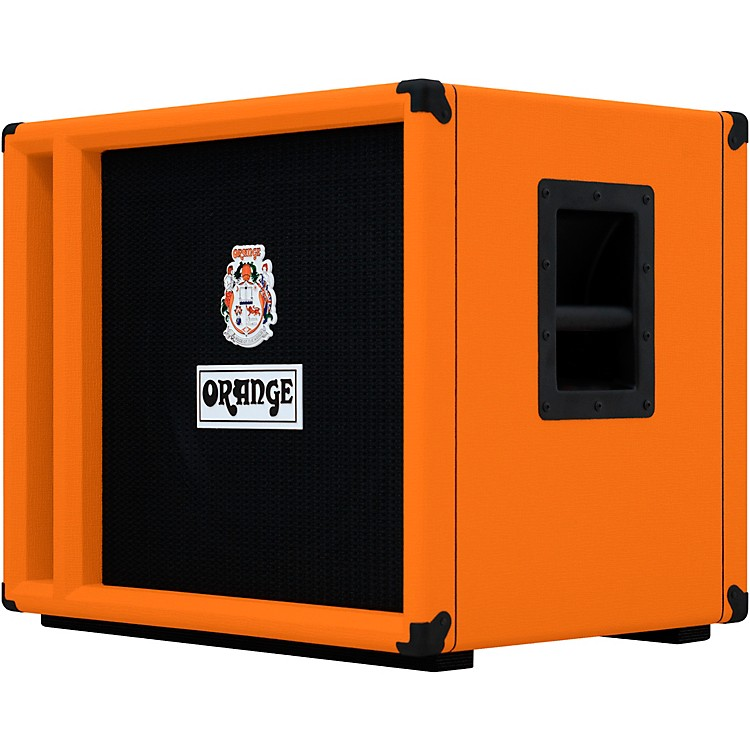 Orange Amplifiers OBC Series OBC115 400W 1x15 Bass Speaker Cabinet Orange