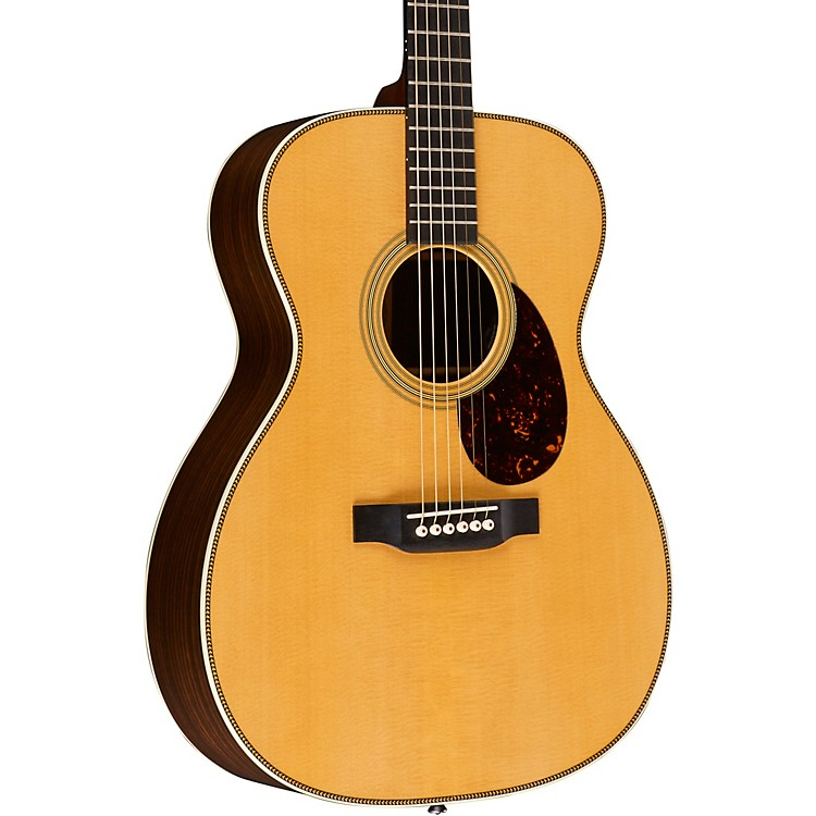 Martin OM-28E Retro Series Orchestra Acoustic-Electric Guitar Natural