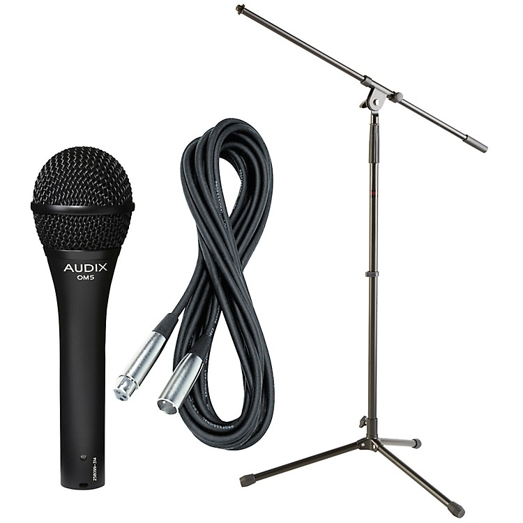 Audix OM-5 Mic with Cable and Stand