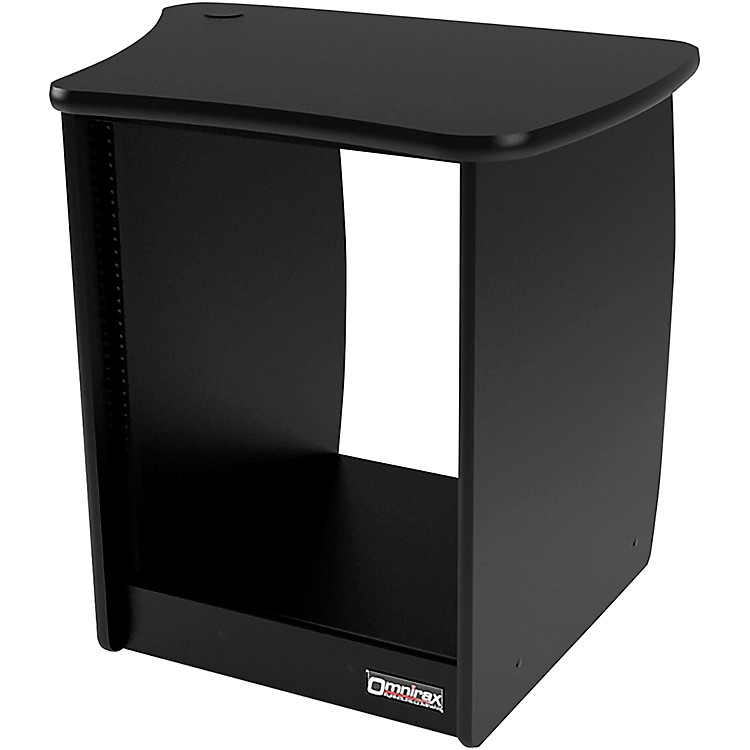 Omnirax OM13R 13-Rackspace Cabinet for the Right Side of the OmniDesk - Black