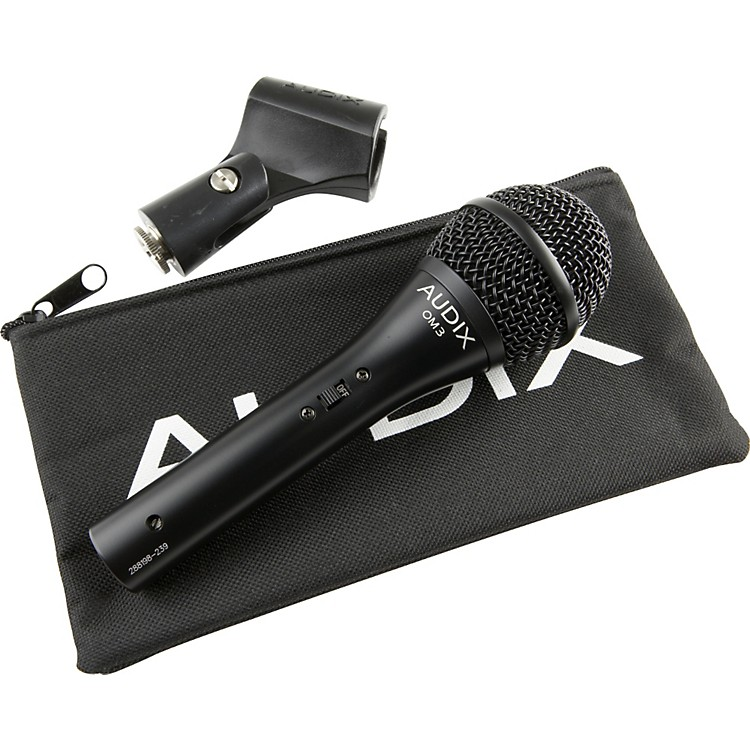 AudixOM3-S Hypercardioid Vocal Microphone with Switch