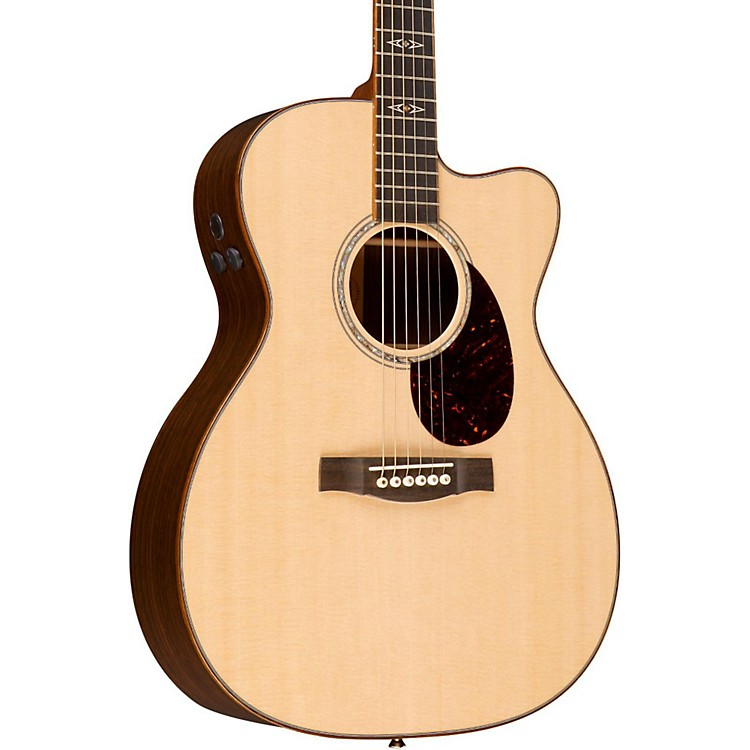 Martin OMCPA1 Plus Performing Artist Series Plus Acoustic-Electric Guitar Natural