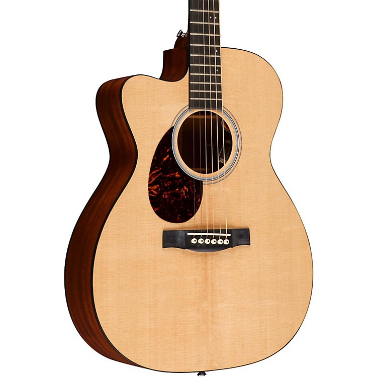 Martin OMCPA4 Orchestra Left-Handed Acoustic-Electric Guitar Natural