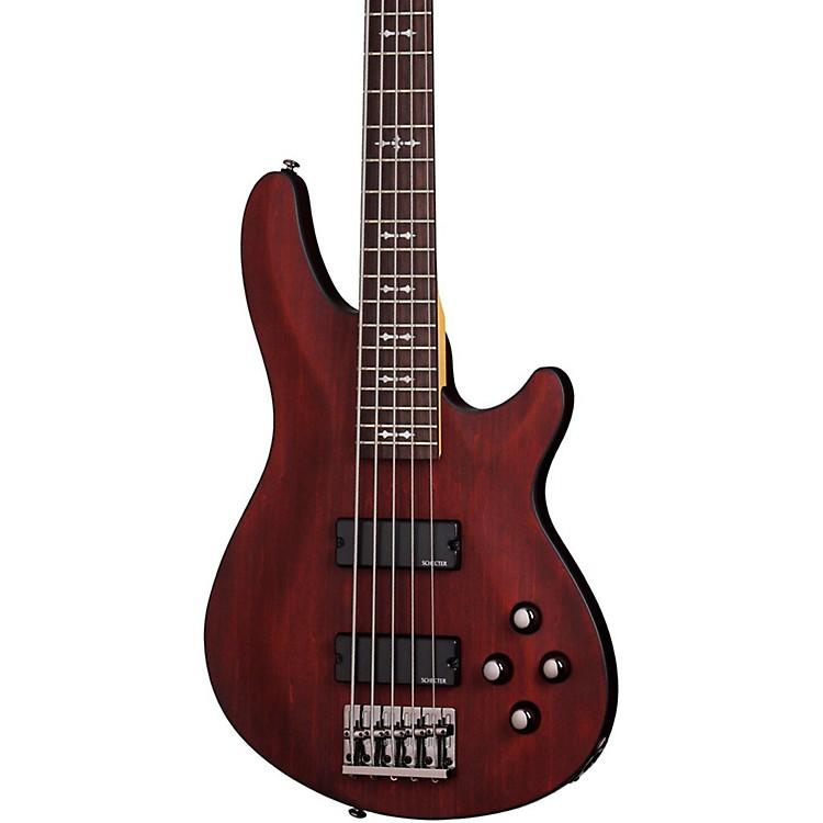 Schecter Guitar ResearchOMEN-5 Electric Bass GuitarWalnut Satin