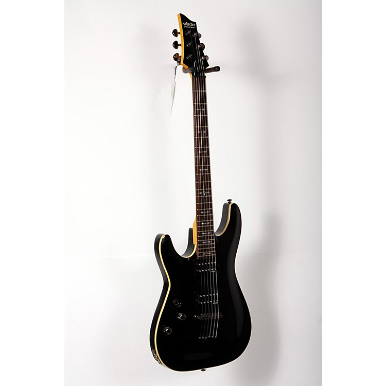Schecter Guitar ResearchOMEN-6  Left Handed Electric GuitarBlack888365894850