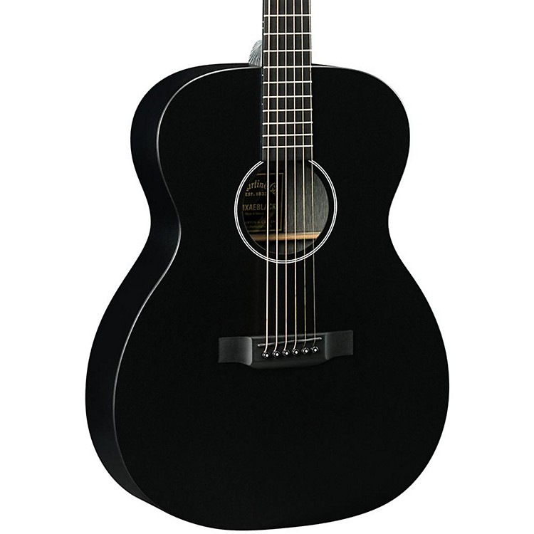 Martin OMXAE with Sonitone USB Acoustic-Electric Guitar Black