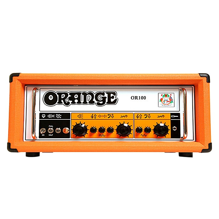 Orange Amplifiers OR100 100W Dual Channel Tube Guitar Head Orange