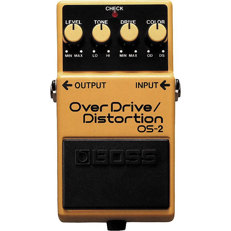 BossOS-2 Overdrive/Distortion Guitar Effects Pedal