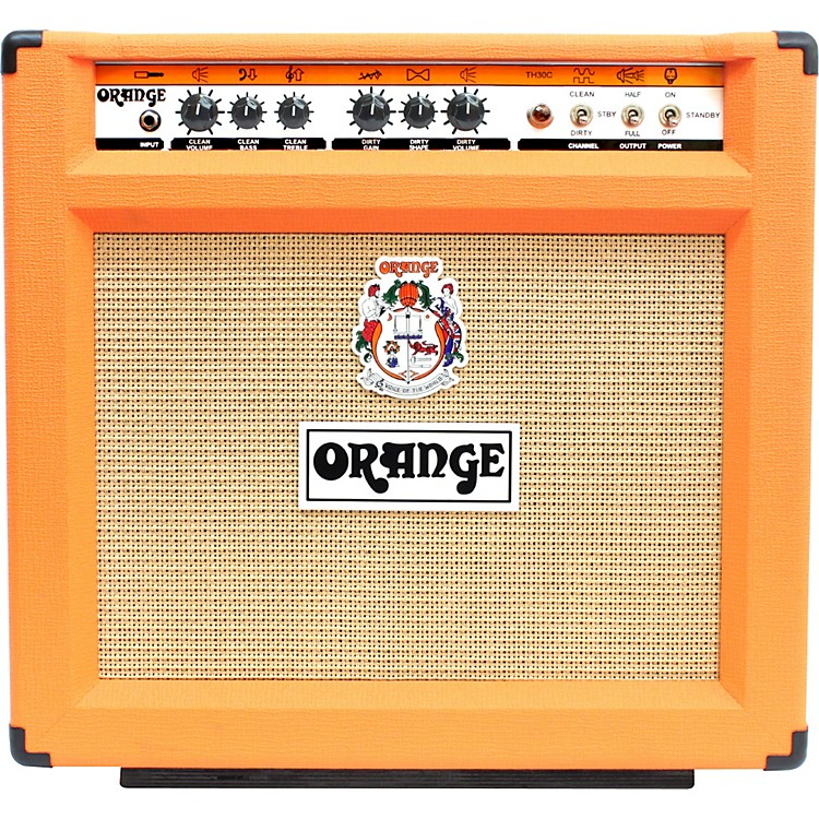 Orange Amplifiers OS-D-TH30-C112 30W 1x12 Tube Guitar Combo Amp Orange