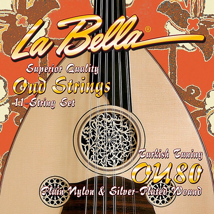LaBellaOU80 Oud Strings - Turkish Tuning