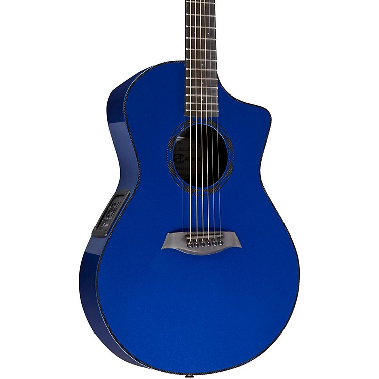 Composite Acoustics OX ELE Carbon Fiber Acoustic Guitar Blue