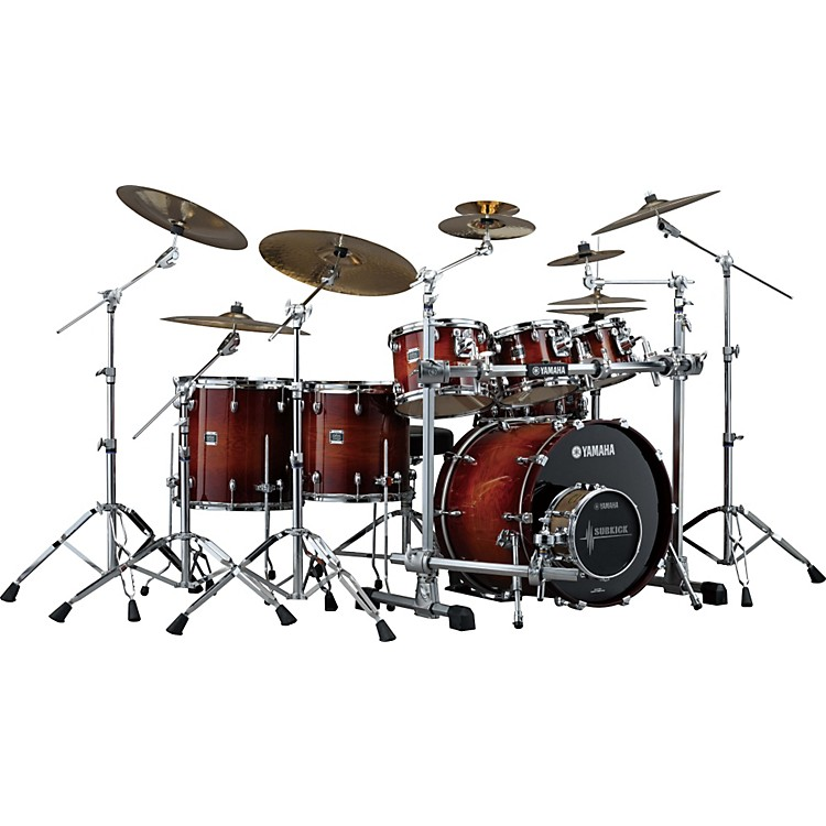 Yamaha Oak Custom 6 Piece Shell Pack