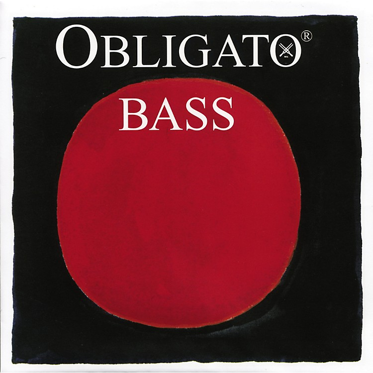 Pirastro Obligato Solo Series Double Bass C String 3/4 Size High Solo